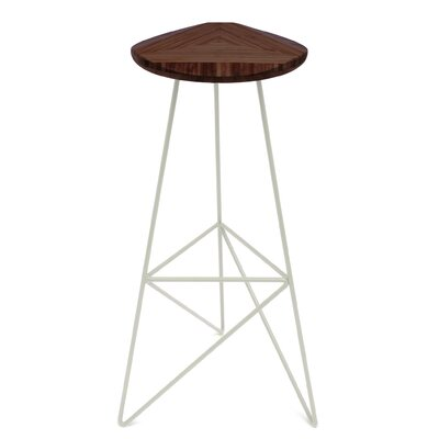 Acute 30 Bar Stool Color: Chocolate, Leg Color: Cream