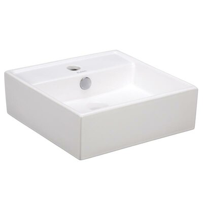 Porcelain 15 Wall mount Bathroom Sink