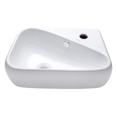 18 Wall-Mount Bathroom Sink