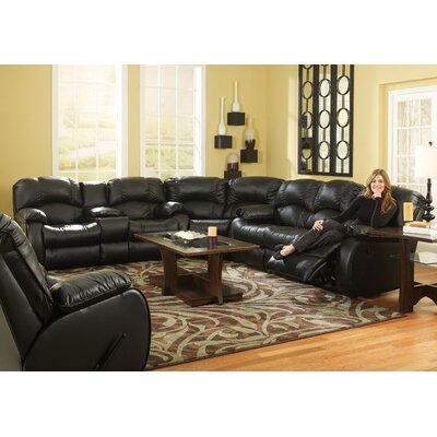 Continental Leather Living Room Collection