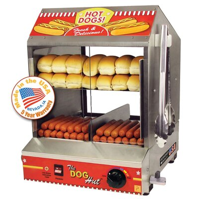 Dog Hut Hot Dog Steamer 8020