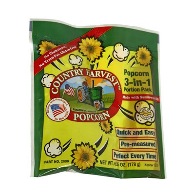 4 oz. Country Harvest Healthy Choice Popping Corn 2000