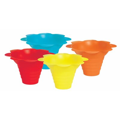 Flower Sno Cone Drip Cup Size: 4 oz. 6502