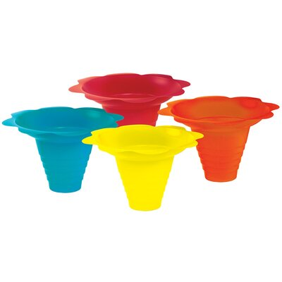 Flower Sno Cone Drip Cup Size: 8 oz. 6503