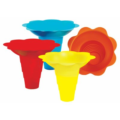 Flower Sno Cone Drip Cup Size: 12 oz. 6504