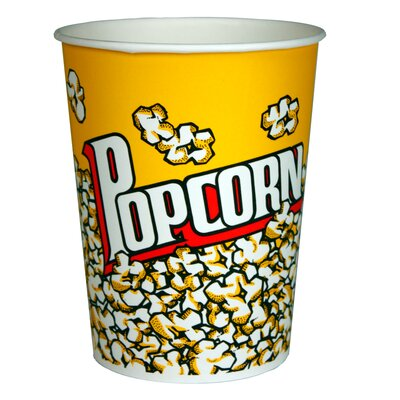 Popcorn Bucket Size: 130 oz. 1067
