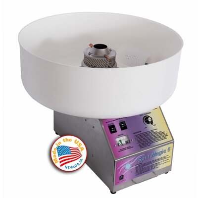 Paragon International Spin Magic 5 Cotton Candy Machine with Platic Bowl at Sears.com