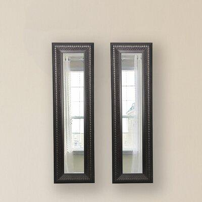 Molly Dawn Royal Curve Mirror Panels Size: 32.5