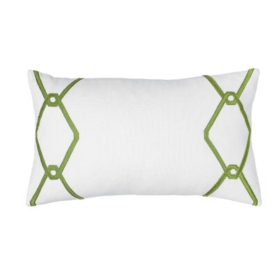 Chain Decorative Cotton Lumbar Pillow