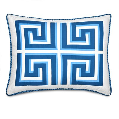 Greek Key Sham Size: Standard