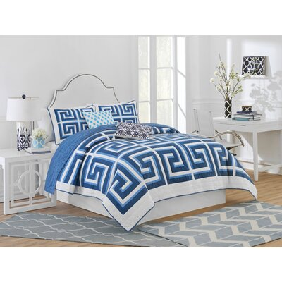 Greek Key Quilt Collection