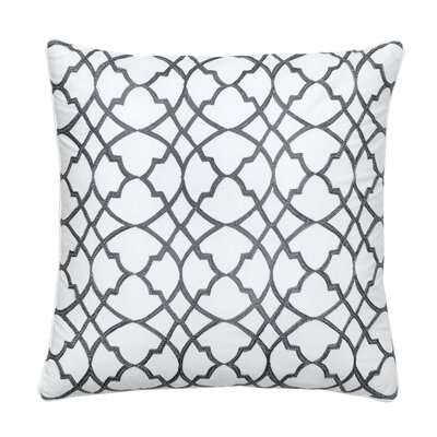 Groton Swirl Decorative Cotton Throw Pillow