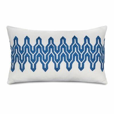 Plimpton Flame Decorative Cotton Lumbar Pillow