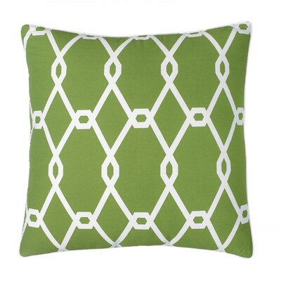 Chain Square Decorative Cotton Throw Pillow