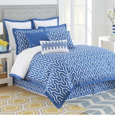 Plimpton Flame Reversible Duvet Cover Size: Twin 1C03521