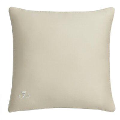 Hexagon Square Embroidered Cotton Throw Pillow
