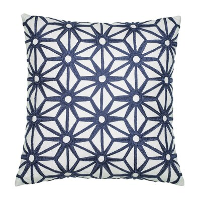 Greek Key Decorative Cotton Throw Pillow