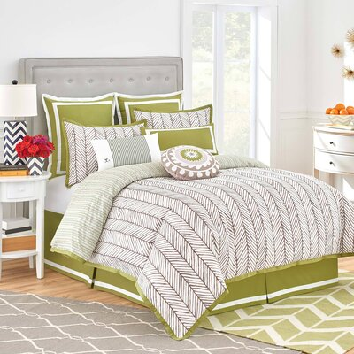 Arrows 3 Piece Comforter Set Size: California King