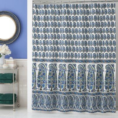Pondicherry Cotton Shower Curtain