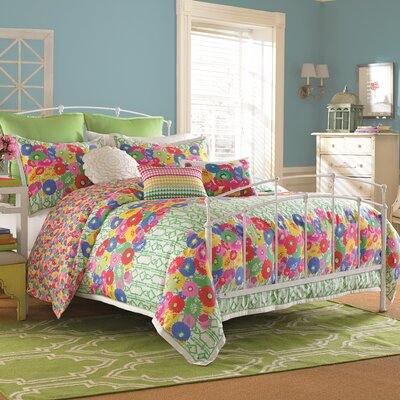 English Bloom 4 Piece Comforter Set Size: King