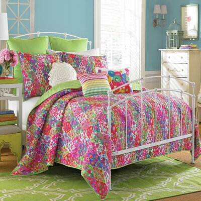 Paradiso Quilt Set Size: Full/Queen