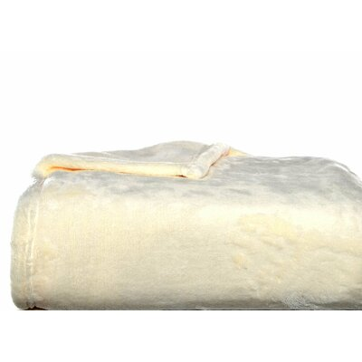 Nicole Miller Home Ultra Soft Plush Polyester Blanket - Size: Full/Queen, Color: Cream at Sears.com
