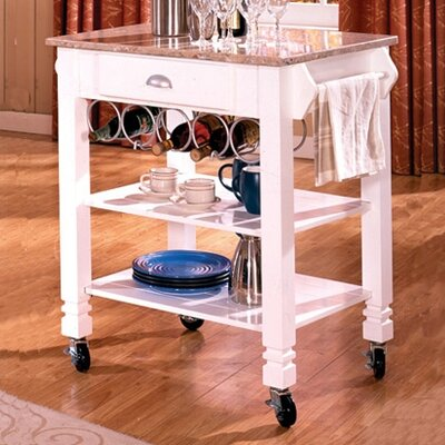 Financing for Kitchen Cart with Marble Top...