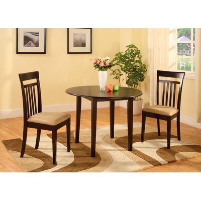 Financing Merlot 3 Piece Dining Set...