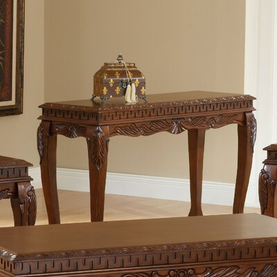 Credit for Carved Console Table...