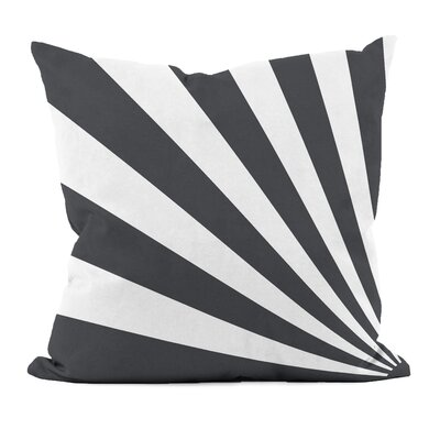 Geometric Decorative Throw Pillow Size: 20 H x 20 W, Color: Black