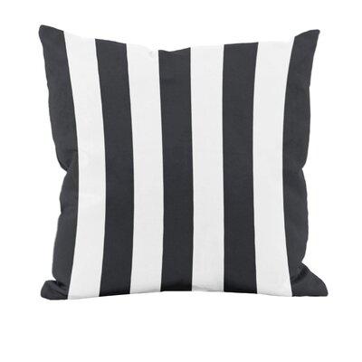 Classic Stripe Decorative Throw Pillow Size: 16 H x 16 W