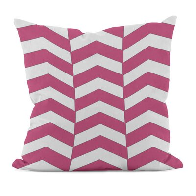 Geometric Decorative Throw Pillow Size: 20 x 20, Color: Fuchsia