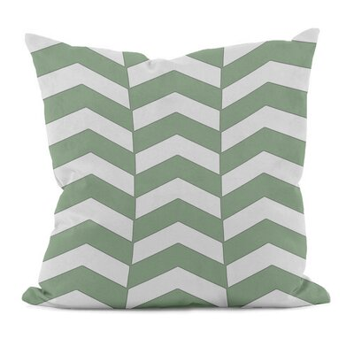 Geometric Decorative Throw Pillow Size: 20 x 20, Color: Margarita Green
