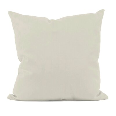 Solid Throw Pillow Size: 20