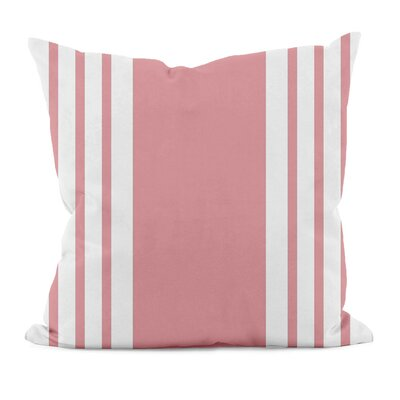 E By Design Big and Bold Stripe Decorative Throw Pillow - Size: 18