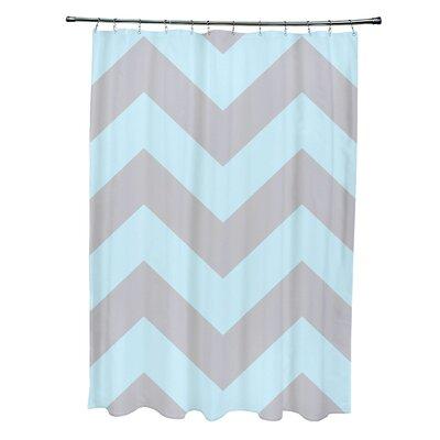 E By Design Geometric Shower Curtain - Color: Rain/Omar at Sears.com