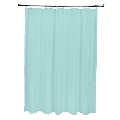 Solid Shower Curtain Color: Ocean
