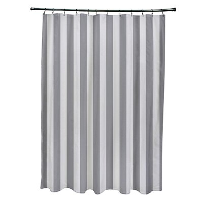 Striped Shower Curtain Color: Paloma/Classic