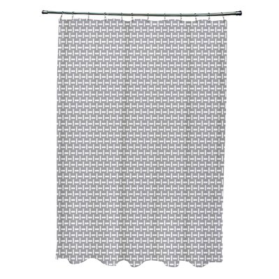 Geometric Shower Curtain Color: Classic Gray