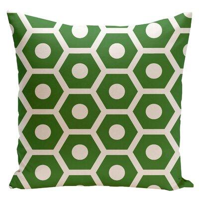 E By Design Geometric Cotton Decorative Throw Pillow II - Size: 20