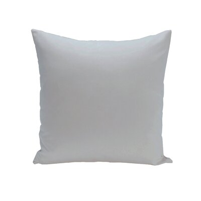 Solid Down Euro Pillow Color: Soft Blue