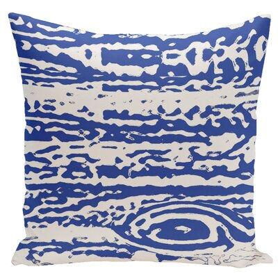Abstract Euro Pillow Color: Dazzling/Blue