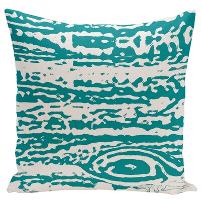 Abstract Euro Pillow Color: Lake/Blue
