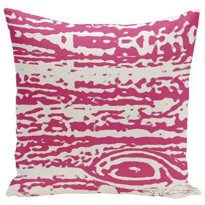 Abstract Euro Pillow Color: Fuchsia