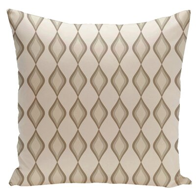 Geometric Down Throw Pillow