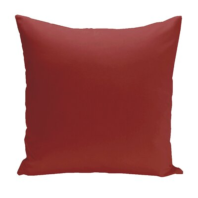 Asian Solid Euro Pillow Color: Dragon