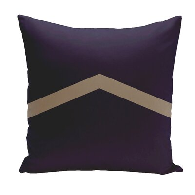 Stripe Euro Pillow Color: Spring/Navy/Flax