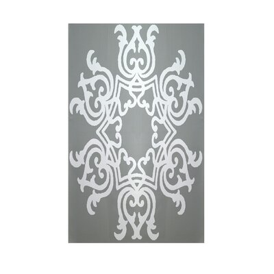 Geometric Grey Indoor/Outdoor Area Rug Rug Size: 2 x 3