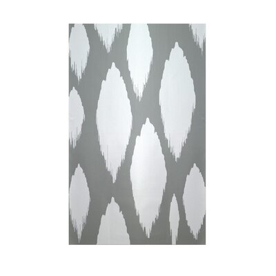 Ikat Grey Indoor/Outdoor Area Rug Rug Size: Rectangle 3 x 5