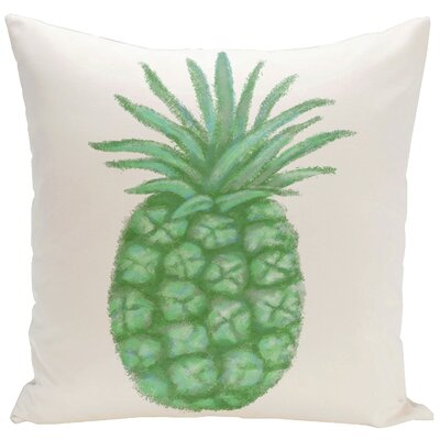 Decorative Pineapple Throw Pillow Size: 16 H x 16 W